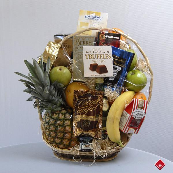 panier cadeaux paniers de fruits montr al le pot de fleurs. Black Bedroom Furniture Sets. Home Design Ideas