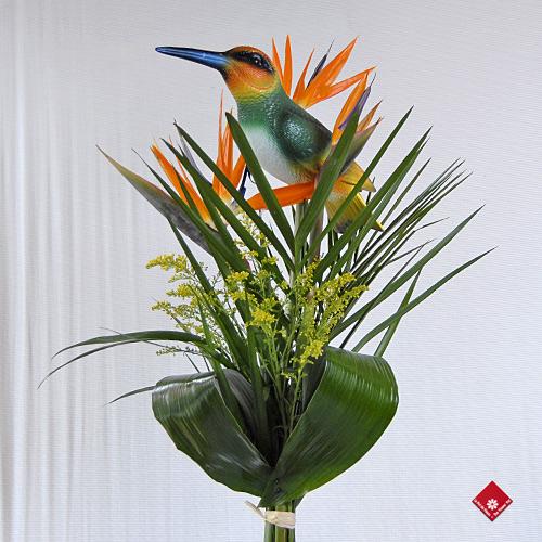 fleurs oiseaux du paradis. Black Bedroom Furniture Sets. Home Design Ideas