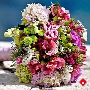 Bouquet style champ tre pour mariage montr al le pot for Bouquet de fleurs quebec