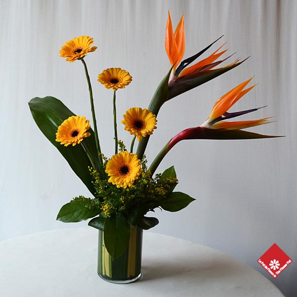 Arrangements floraux du fleuriste de montréal le pot