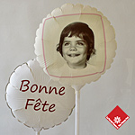 Cadeau: décoration de ballon photo @ $34