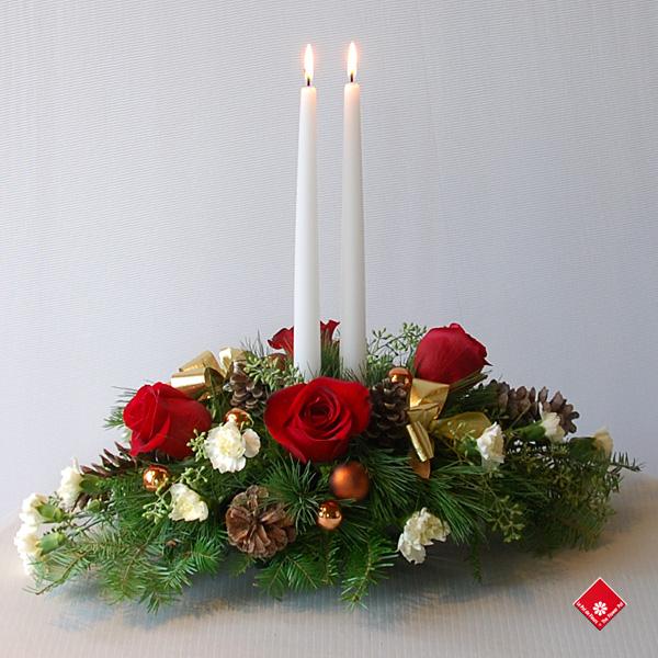 fleurs et cadeaux de no l fleuriste montr al le pot de fleurs. Black Bedroom Furniture Sets. Home Design Ideas